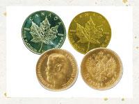 取り扱い商品外国金貨