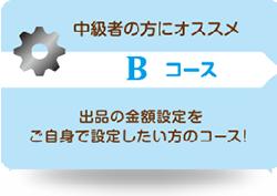 オークション代行-Bコース