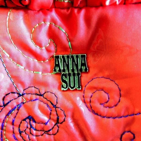 ☆ ANNA SUI/アナスイ 2wayショルダーバッグ オレンジ ☆