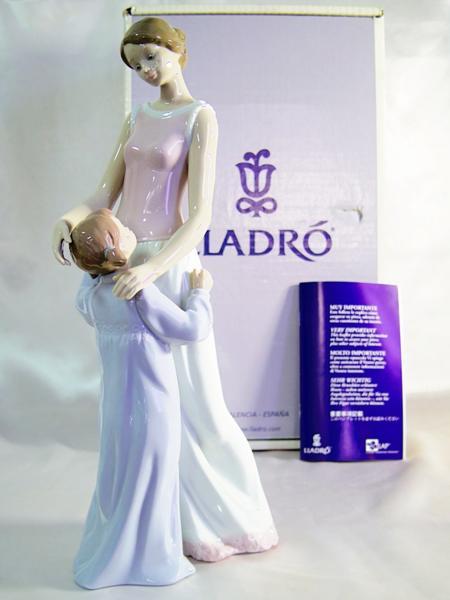 LLADRO/リヤドロ/6771/大好きなママ/箱付/大型作品/陶器置物/まるオク