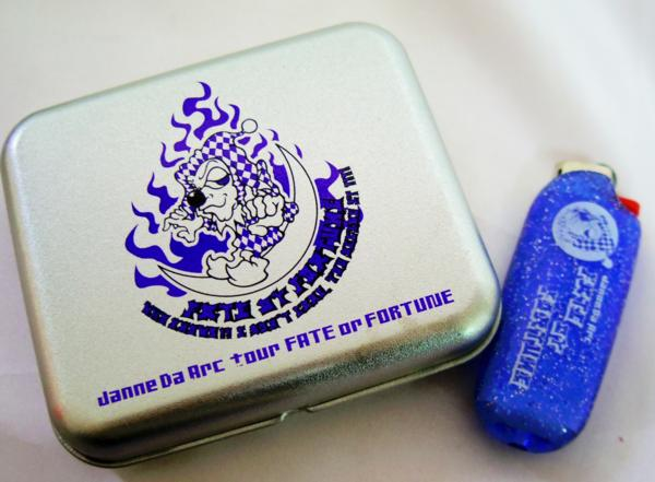 JanneDaArc『FATEorFORTUNE』ツアーグッズ缶入りライター