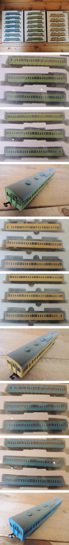 TOMIX 103系通勤電車 3カラー ブルー グリーン カナリア