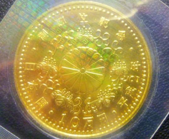 日本の記念硬貨・記念金貨・記念メダルの種類